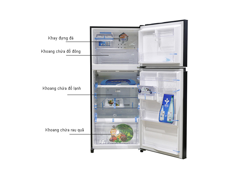 Tủ lạnh Inverter Toshiba GRTG41VPDZXK1 - Đen