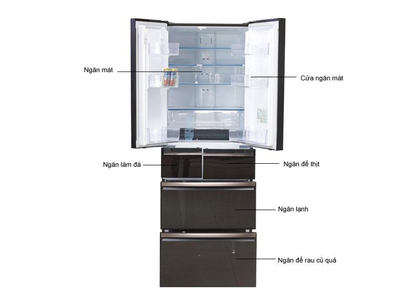 Tủ Lạnh Inverter Mitsubishi MRWX53YBRV 506 Lít