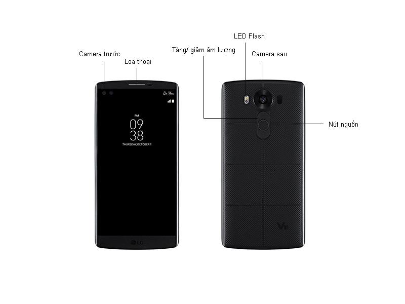 LG V10 - H960 - Đen