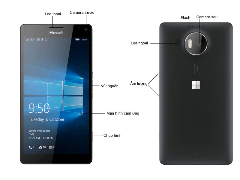 Microsoft Lumia 950XL - Đen