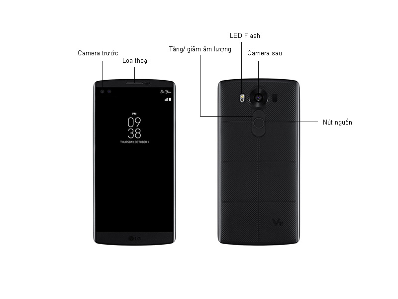 LG V10 H960 - Trắng