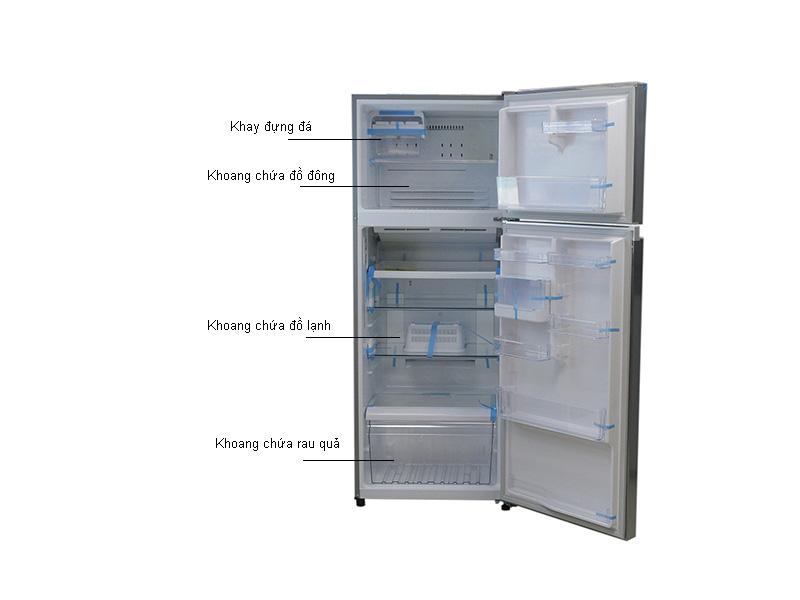 Tủ lạnh Toshiba Inverter GRT46VUBZFS1 - Bạc