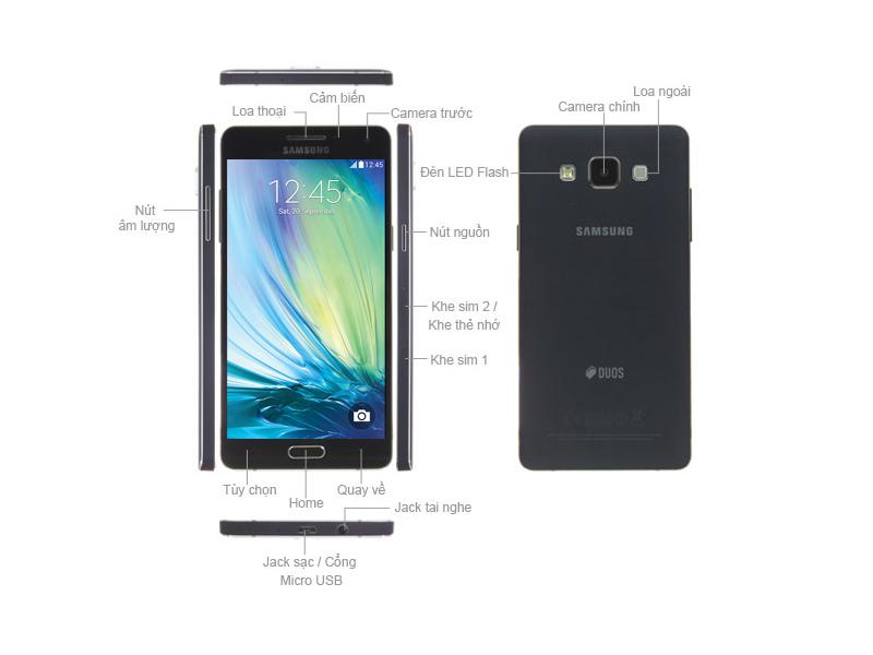 Samsung Galaxy A5 SM-A510 - Vàng