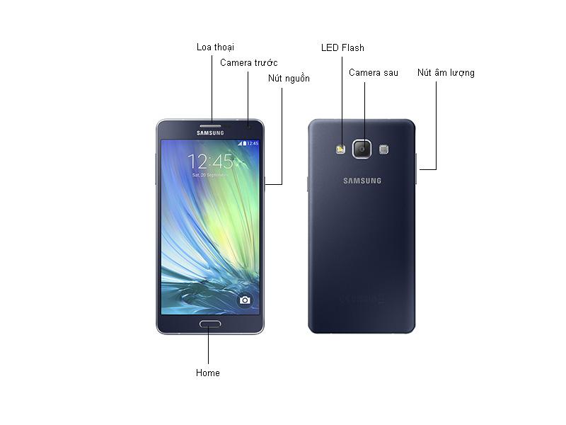 Samsung Galaxy A7 SM-A710 - Vàng