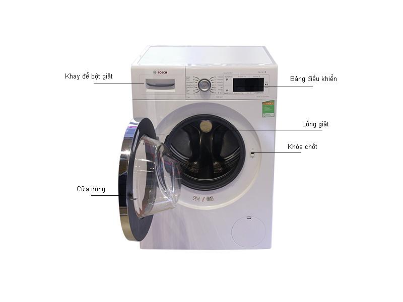 Máy giặt lồng ngang Bosch WAW28480SG