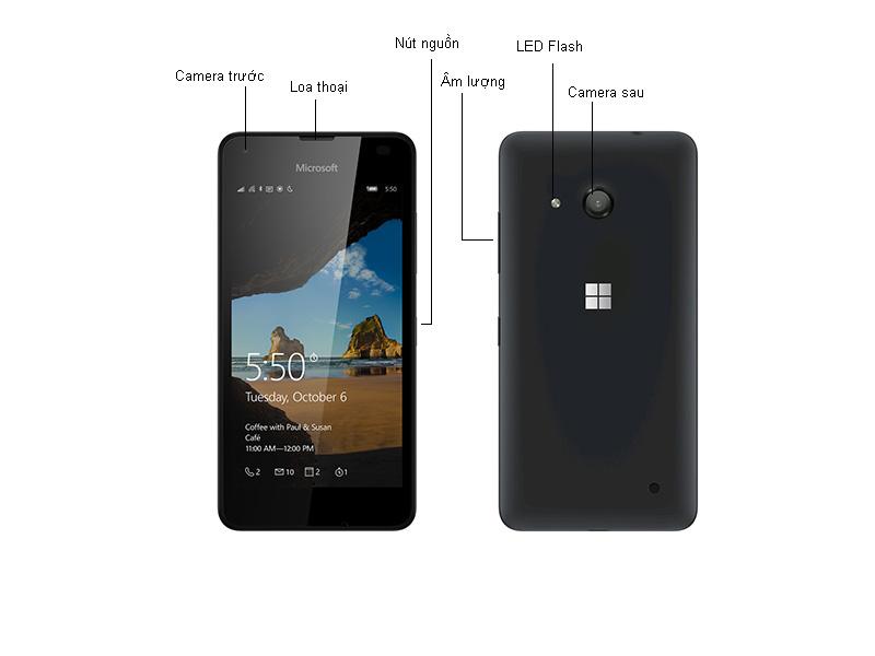 Microsoft Lumia 550 RM1127 - Trắng