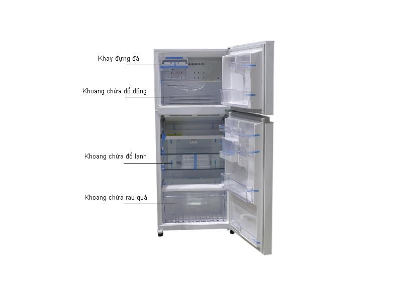 Tủ lạnh Inverter Toshiba GRTG41VPDZZW1 - Trắng