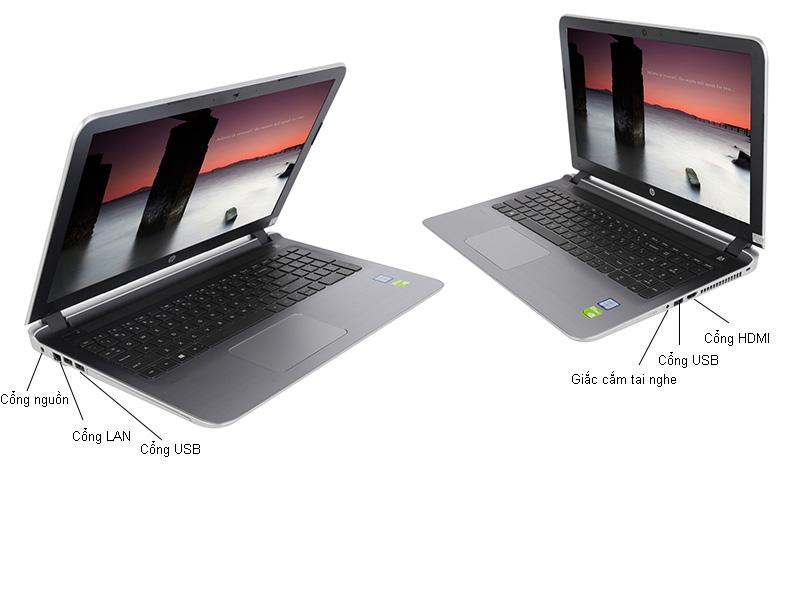 HP Pavilion Notebook P15-AB252TX - Bạc