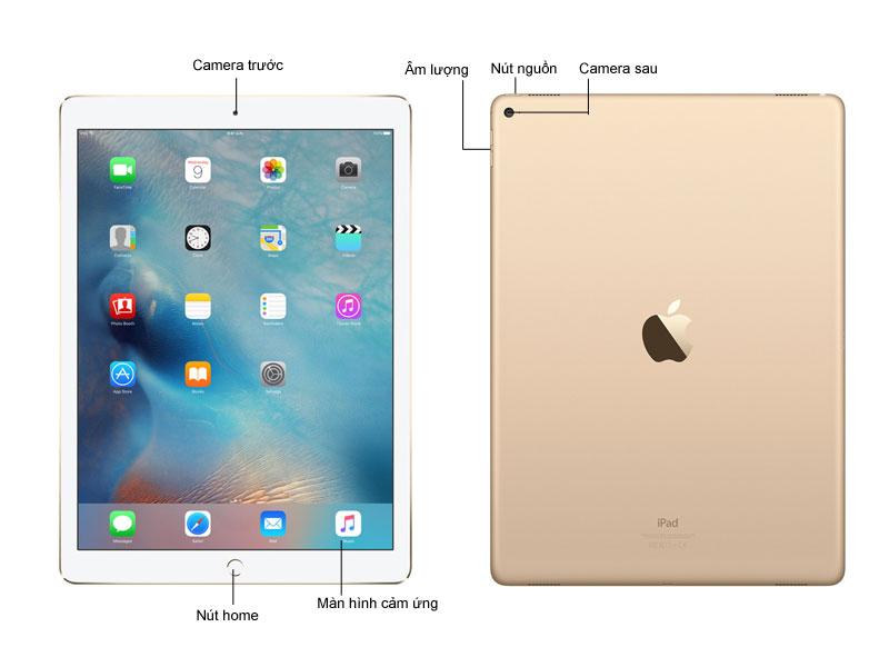 Apple iPad Pro Wi-Fi 4G 128GB - Vàng