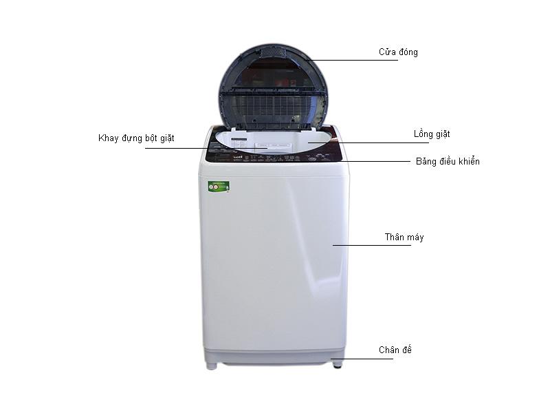 Máy giặt Toshiba DME1700WVWK