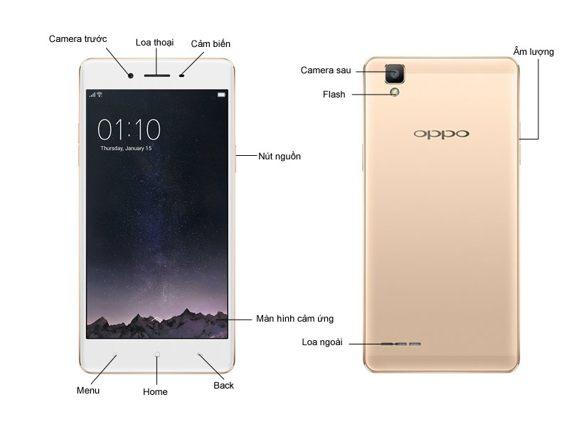 Điện thoại di động OPPO F1