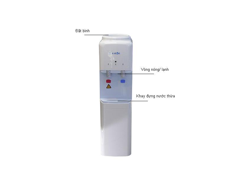 Cây nước nóng lạnh Karofi HCK01 - Trắng