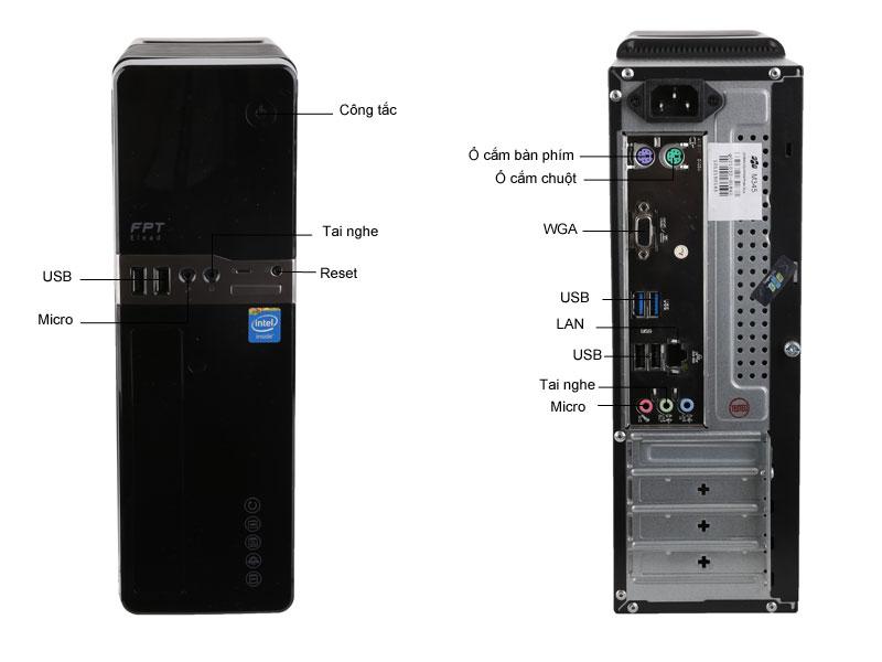 Máy tính để bàn FPT Elead Slim HH171G
