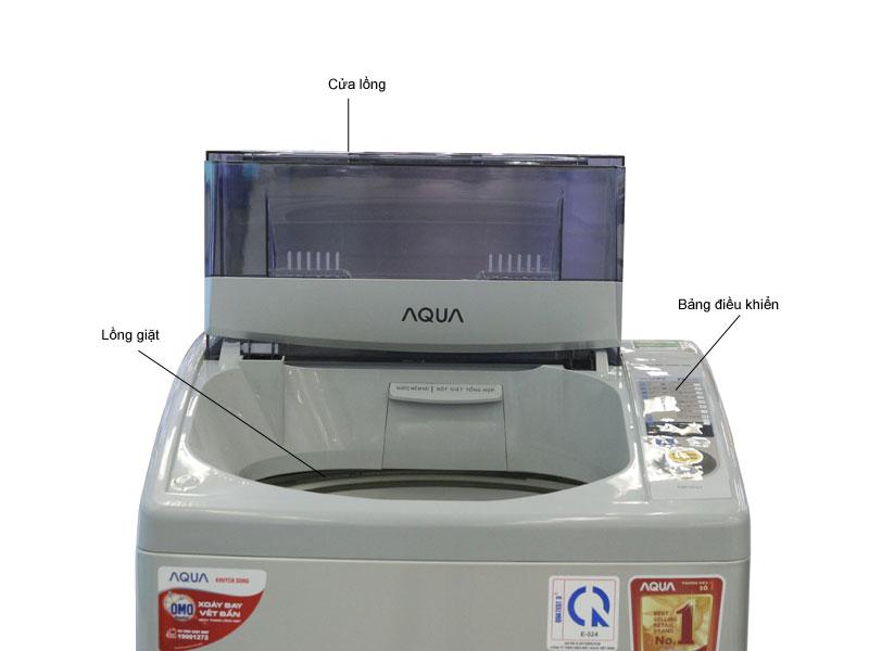 Máy giặt Aqua AQWS80ZTS