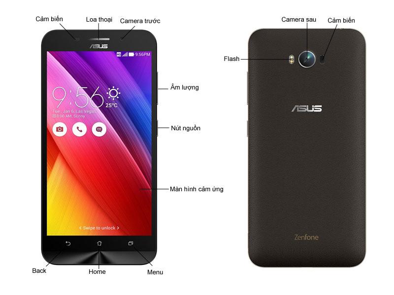 Asus  ZC550KL Zenfone Max - Đen