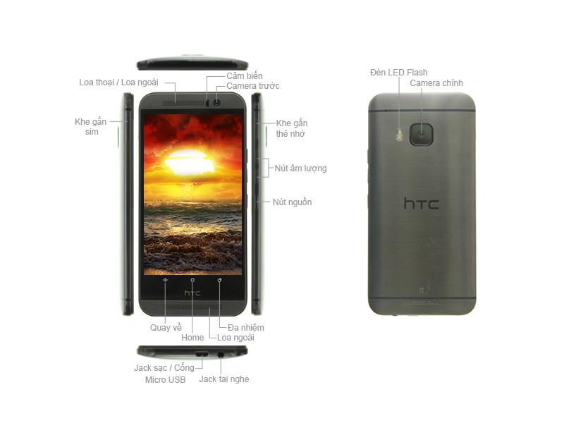 Điện thoại HTC M9s