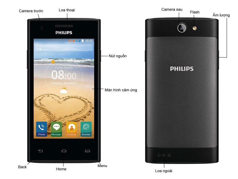 Philips S309 - Đen