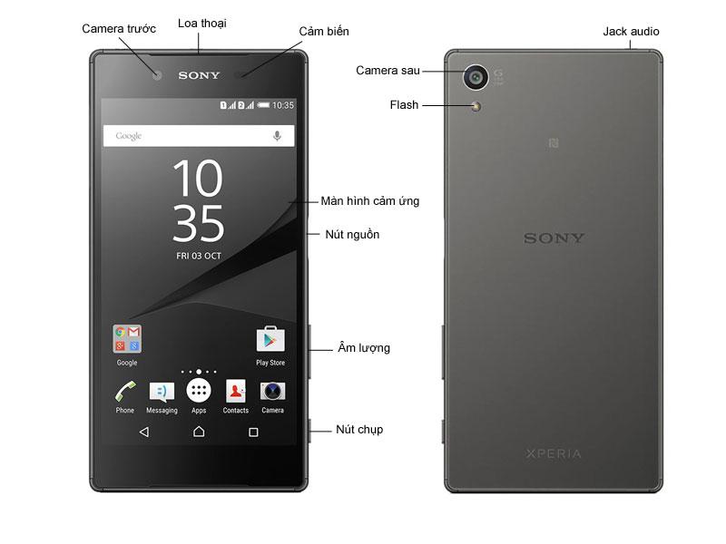 Điện Thoại Sony Xperia Z5 Premium Dual E6883 - Crom