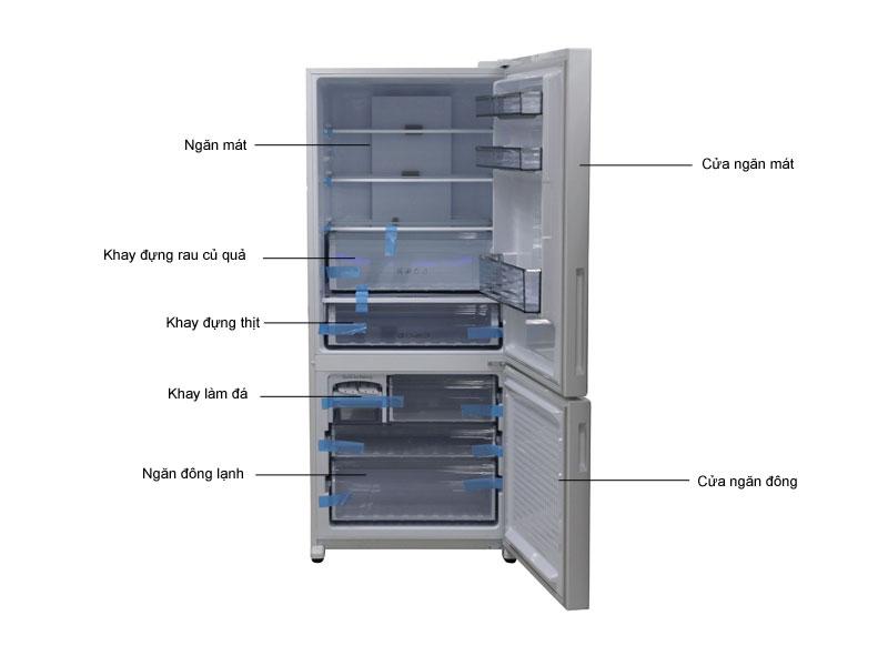 Tủ lạnh Panasonic NRBX418GWVN
