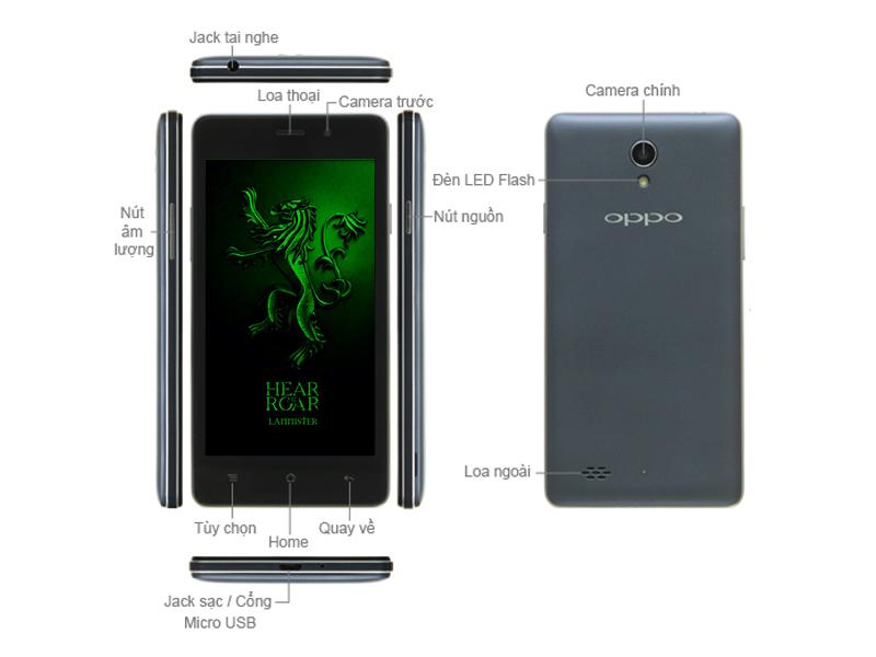 Oppo Joy 3 A11 OPPOA11B16GB - Xám
