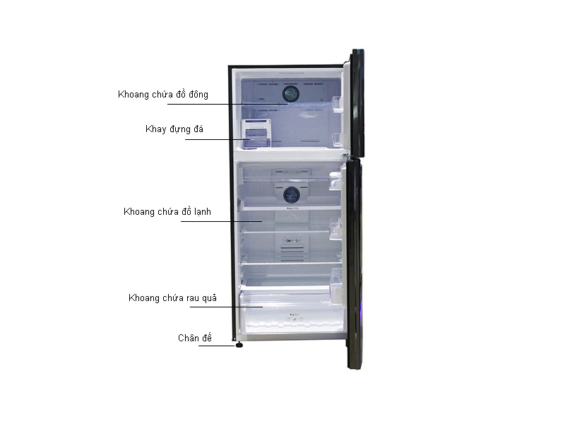 Tủ lạnh Inverter Samsung RT50K6631BS/SV Đen