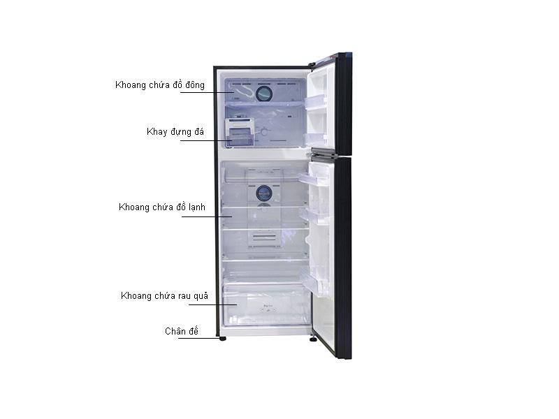 Tủ lạnh Inverter Samsung RT38K5032GL/SV Đen