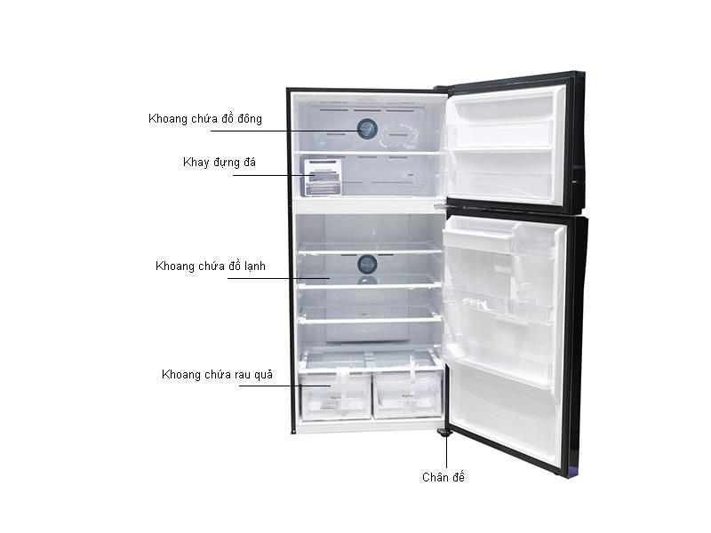 Tủ Lạnh Inverter Samsung RT58K7100BS/SV Đen