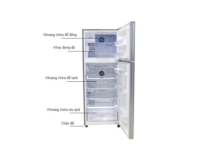 Tủ Lạnh Inverter Samsung RT46K6836SL/SV  Bạc