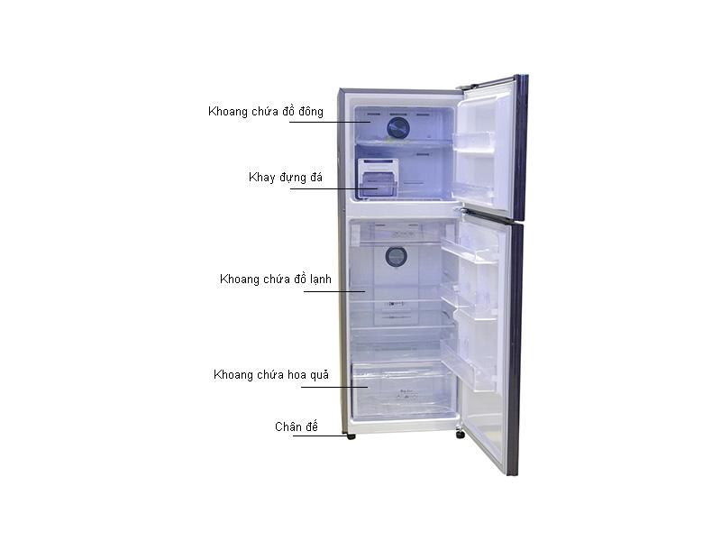Tủ Lạnh Inverter Samsung RT35K5532UT/SV  Xanh tím