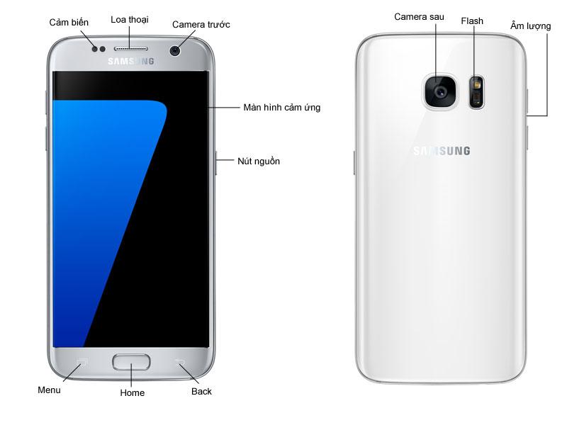 Samsung Galaxy S7 - Vàng