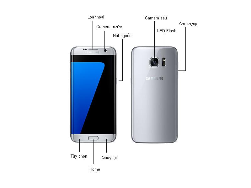 Samsung Galaxy S7 Edge - Bạc