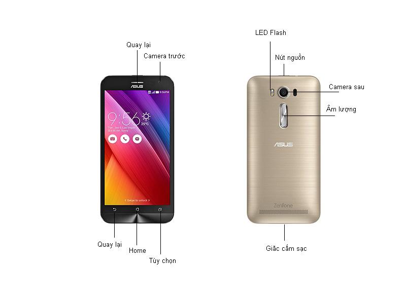 Asus zenfone Laser ZE500KL - Vàng