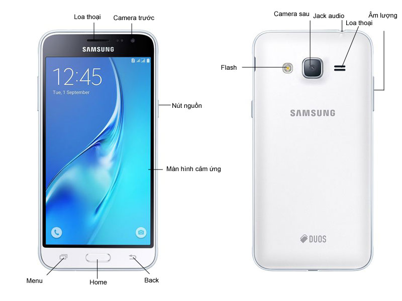 Samsung Galaxy J3 SSJ320