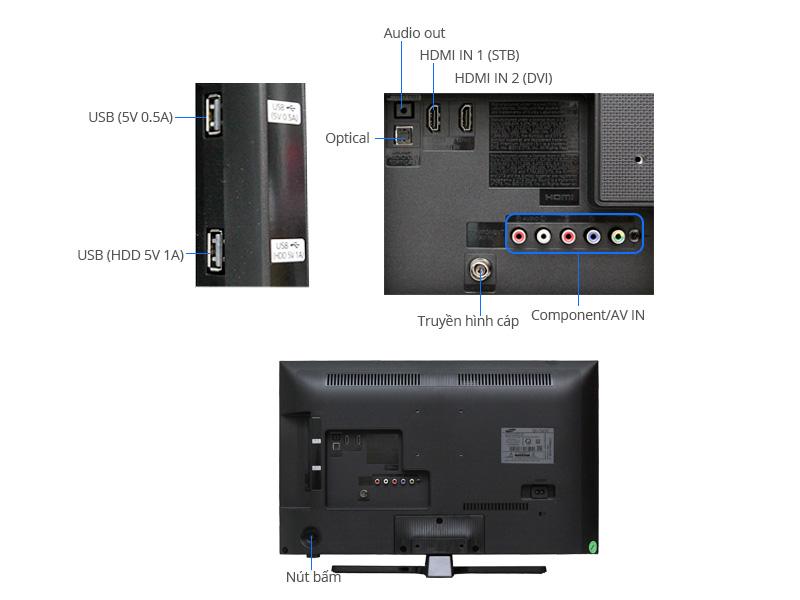 TIVI LED Samsung UA24J4100-24