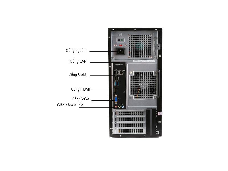 Máy tính để bàn Dell Inspiron INS3847-MTI33592