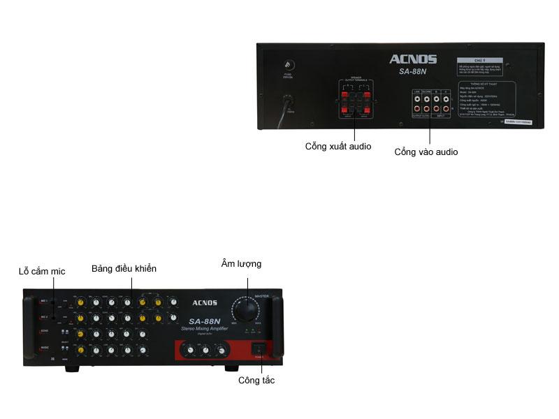 Amply Karaoke Acnos SA88N