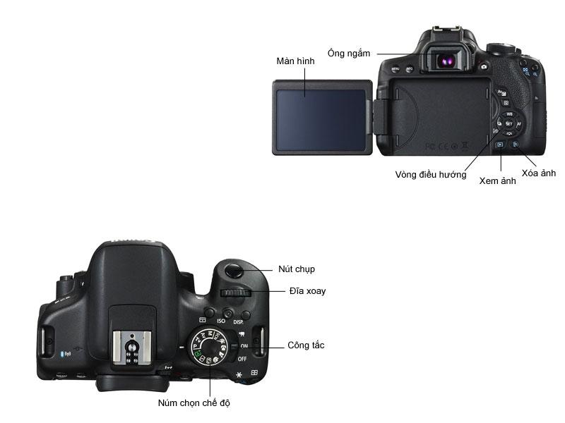 Máy ảnh Canon EOS750D