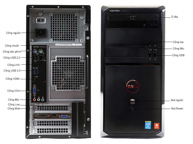 Máy tính để bàn Dell Vostro V3902MT4460