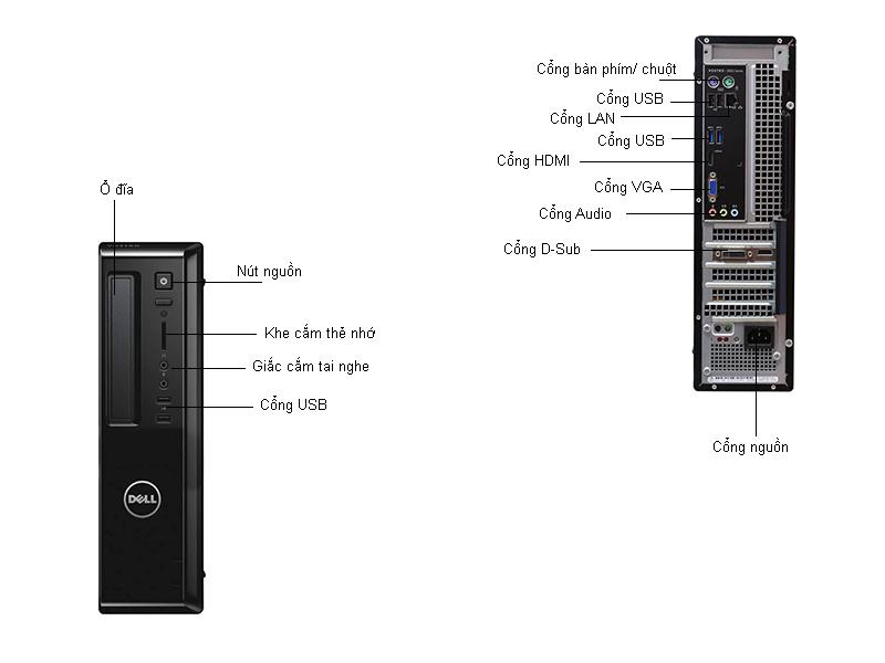 Máy tính để bàn Dell Vostro 3800ST