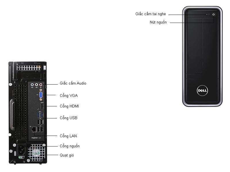 Máy tính để bànDell INS3647ST-I93ND14