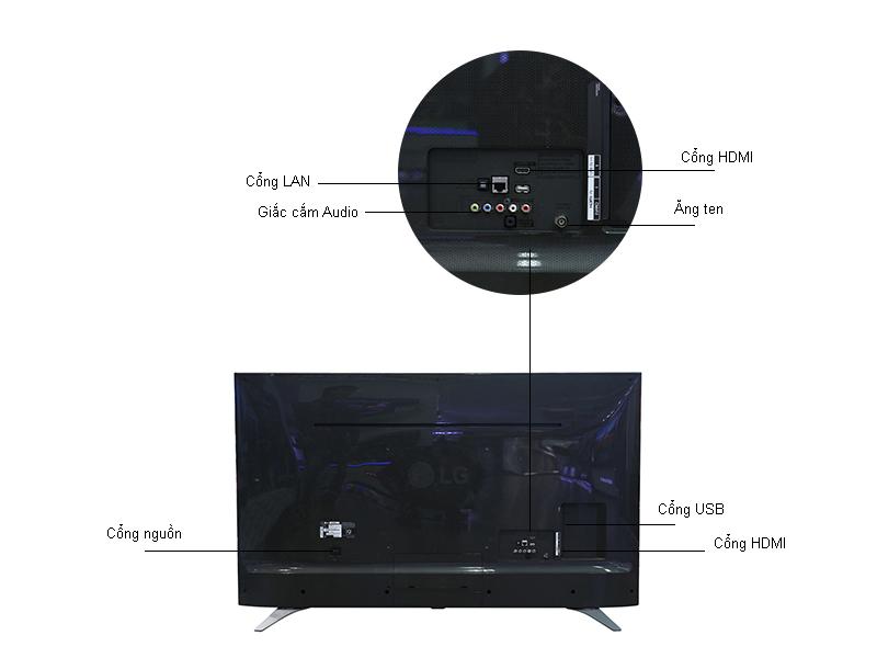 Tivi LED LG 43UH650T