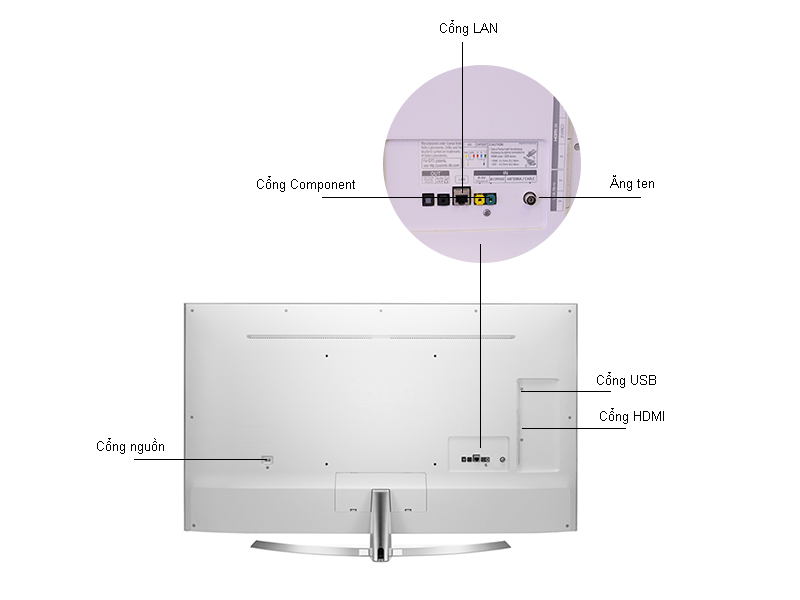 Tivi Super UHD 4K LG 55UH850T