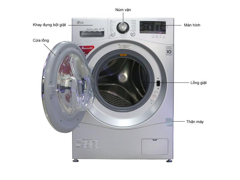Máy giặt LG F1408NPRL