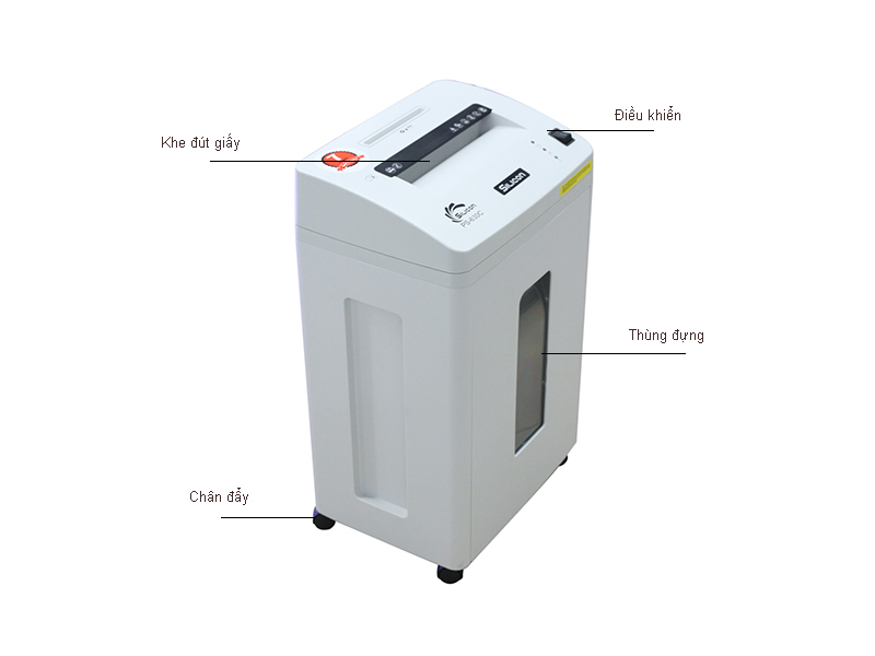 Máy huỷ tài liệu Silicon PS630C