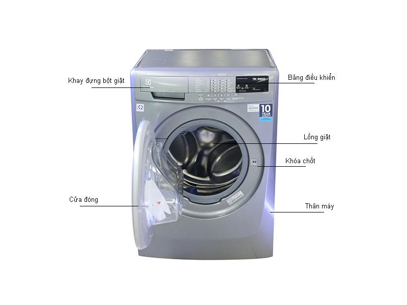Máy giặt Inverter  Electrolux EWF12844S