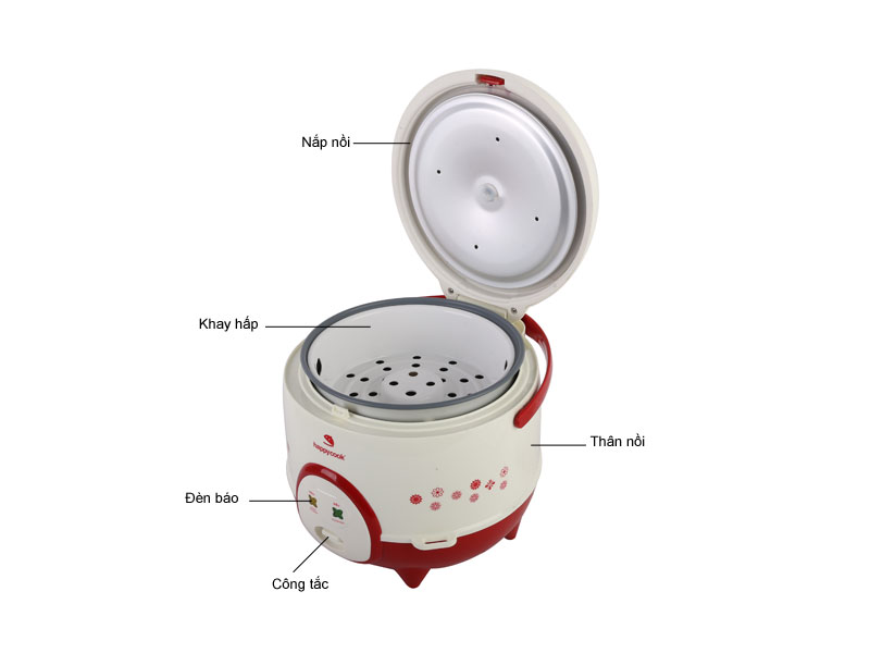 Nồi cơm điện HappyCook HC120R