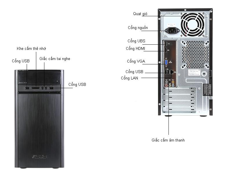 Máy tính để bàn Asus K31ADVN010D