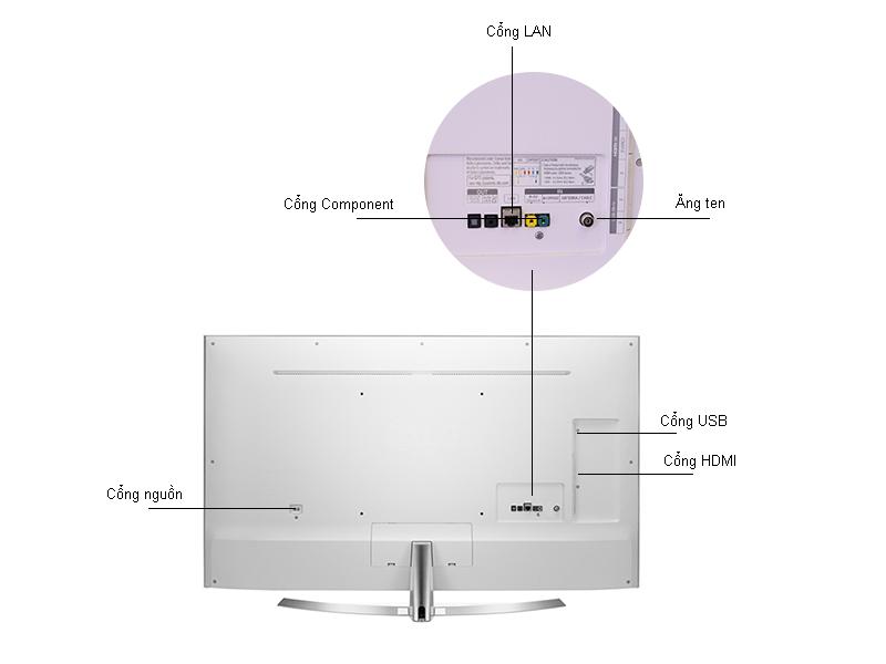 Tivi LED 3D LG 49UH850T