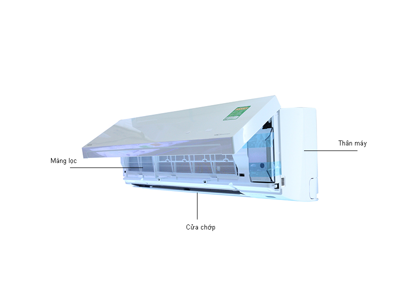 Điều hòa 2 chiều Inverter Toshiba RASH18S3KVV