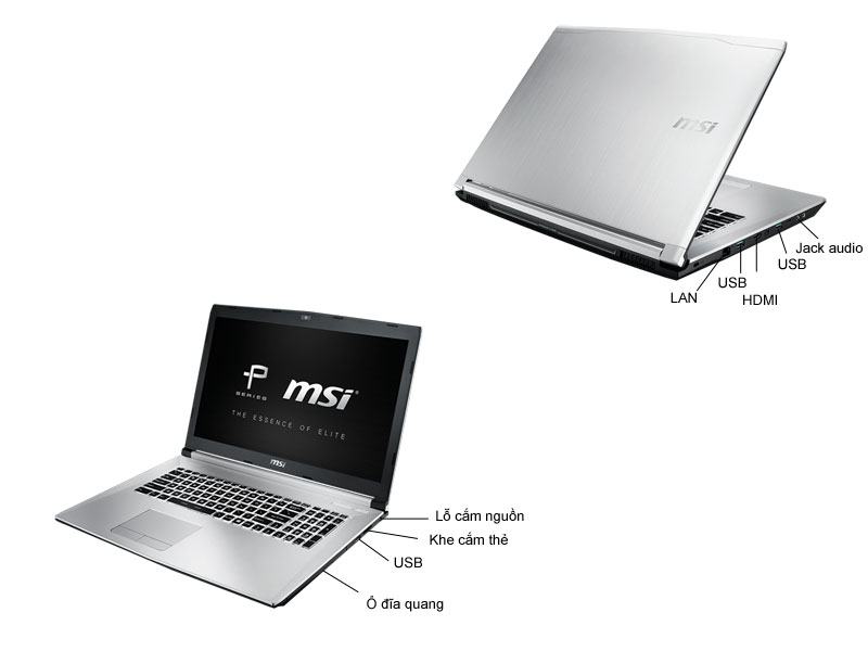 Laptop Gaming MSI PE706QE-6700HQ